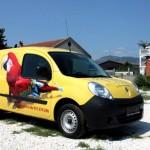 Brendiranje dostavnih vozila