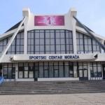 Brendiranje objekata Sportski centar Podgorica digitalna štampa velikog formata VAPOR