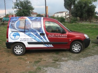 aquaterm autografika brendiranje automobila