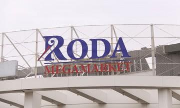 Alubond reklama Roda Podgorica 3d slova