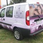 NIVEA Purple Brendiranje automobila, auto grafika