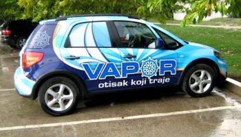 Vapor - Brendiranje automobila, autografika